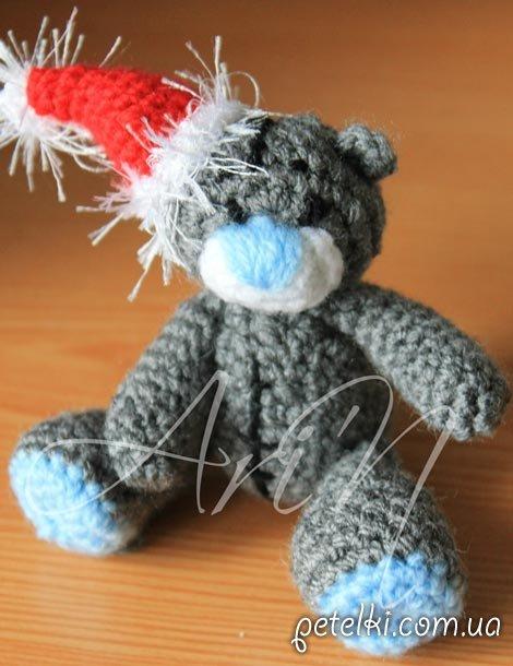 Новогодний Мишка Тедди.