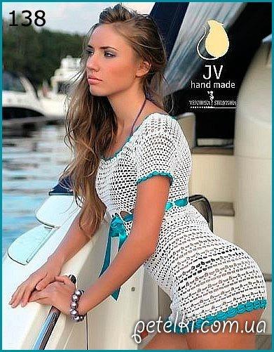 Красивое летнее платье для