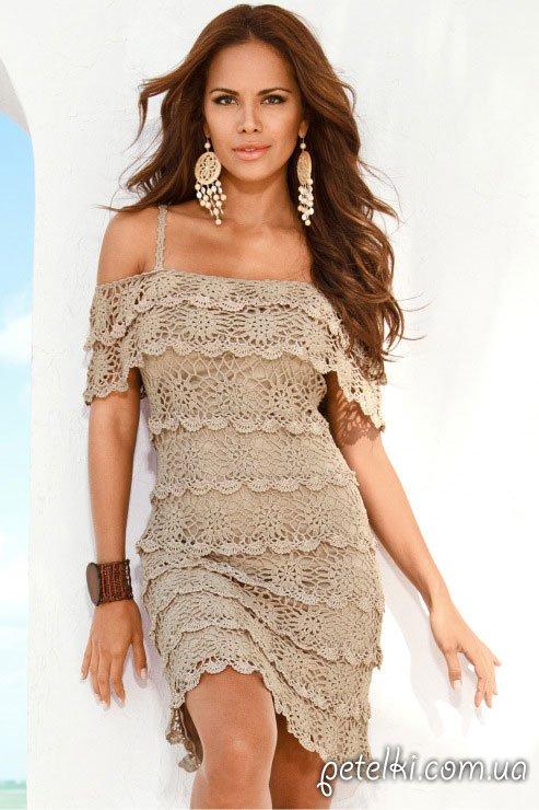 Платье от Boston Proper. Схемы, мастер-класс