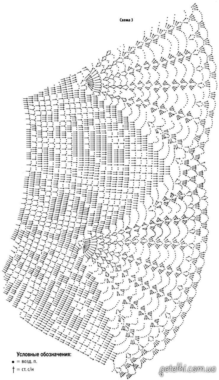 Вязание спицами со схемами и описанием с доступом просмотра 11