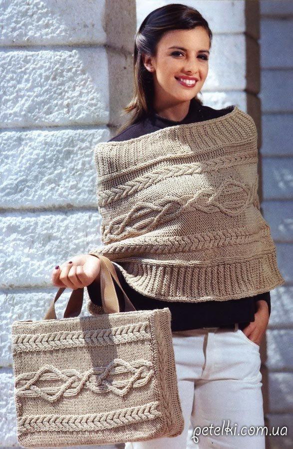 Шарф спицами. Более 50 схем вязание шарфа спицами 81