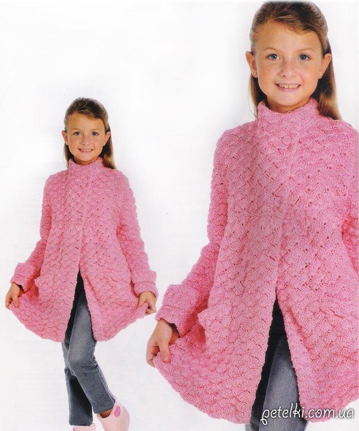 Вязание кардиганы для девочки