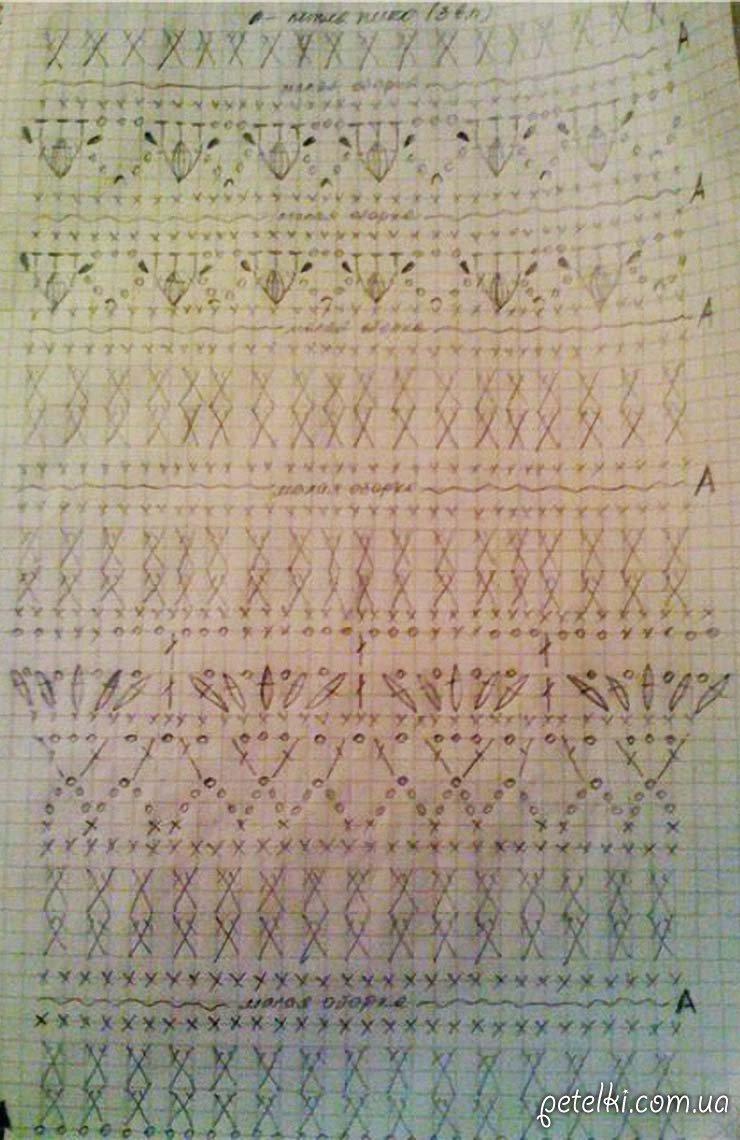 ванесса монторо схемы узоры вязания