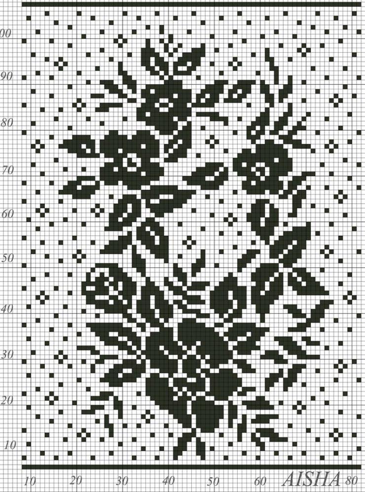 Филейное вязание юбка крючком 34