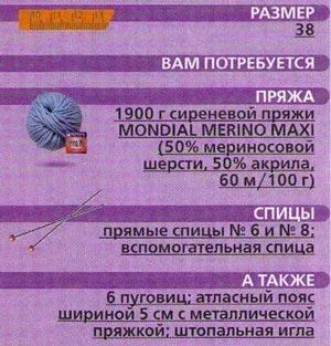 Пальто выкройка схема описание