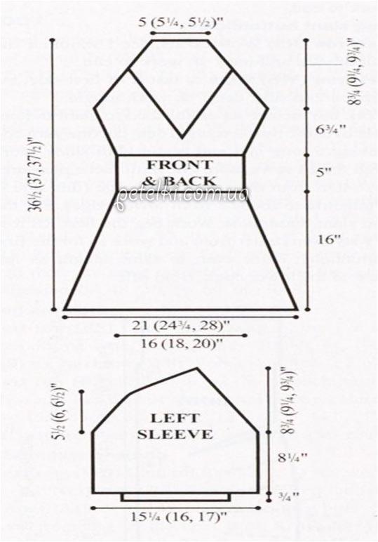 выкройка платья Шиповник
