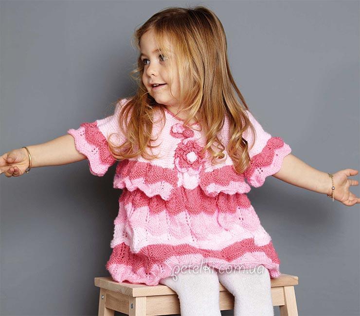 Платье и болеро для девочки