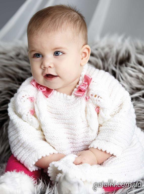 Платье для малышки крючком схема фото 199