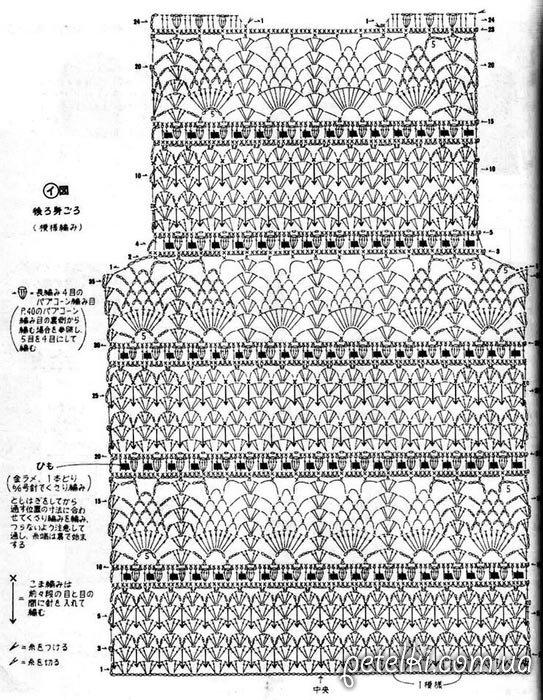 Схемы вязания подробные