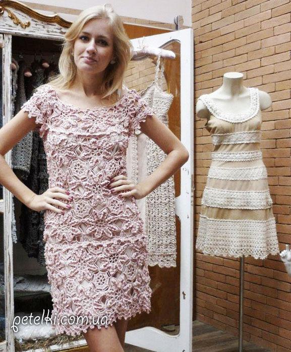 Сайт вязания платьев