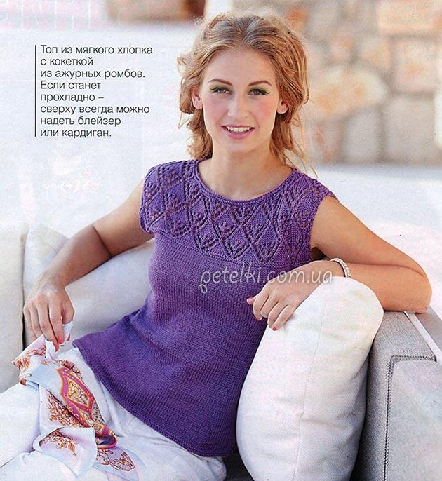 Летняя подборка модное вязание 2016  2017 спицами и