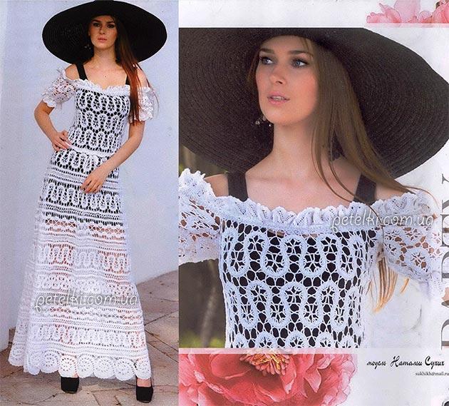 Платье в брюггском кружеве