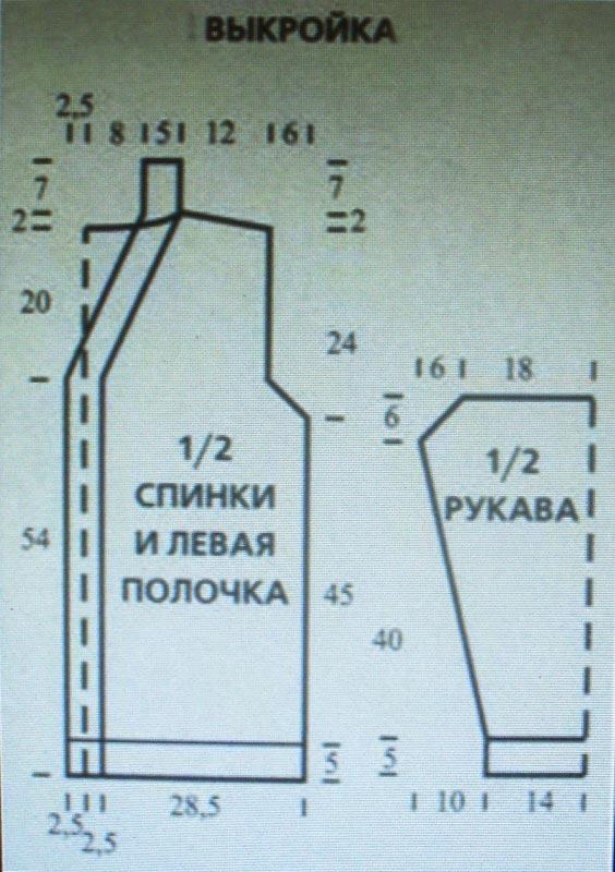 Кардиганы лало соты схема вязания 16