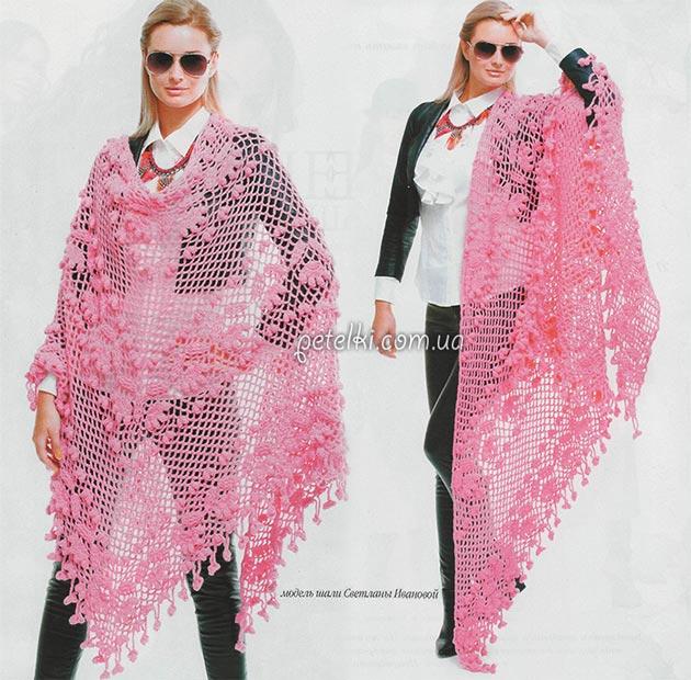 Вязание юбок ленточным кружевом 5