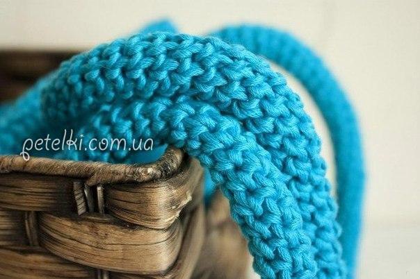 Круглый прочный шнур крючком. Мастеркласс
