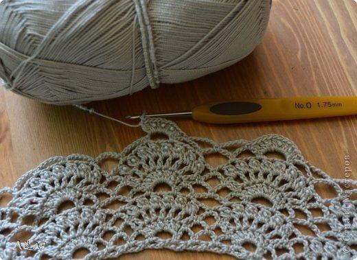 Схема вязания воротника кофточек