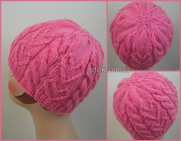 ������� ������� Sweetheart Beanie by Gretchen Tracy. ��� ������