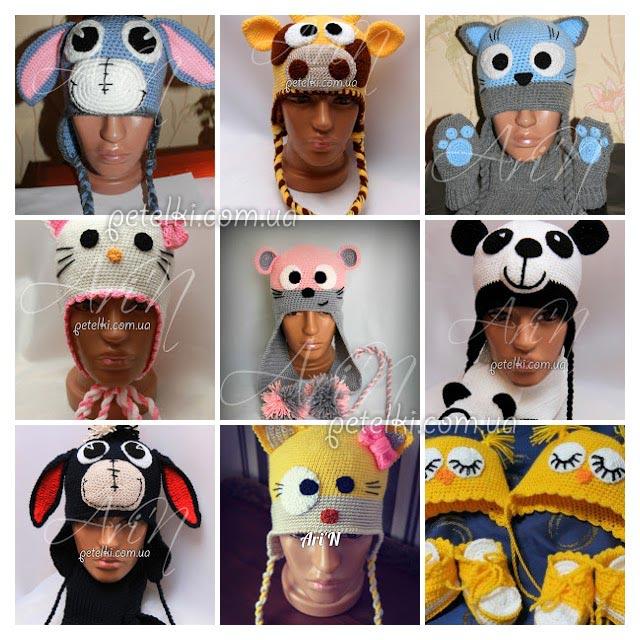 25 идей вязаных шапочек для детей от Ari'N