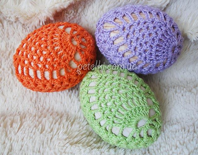 Пасхальные сувениры крючком со схемами фото 692
