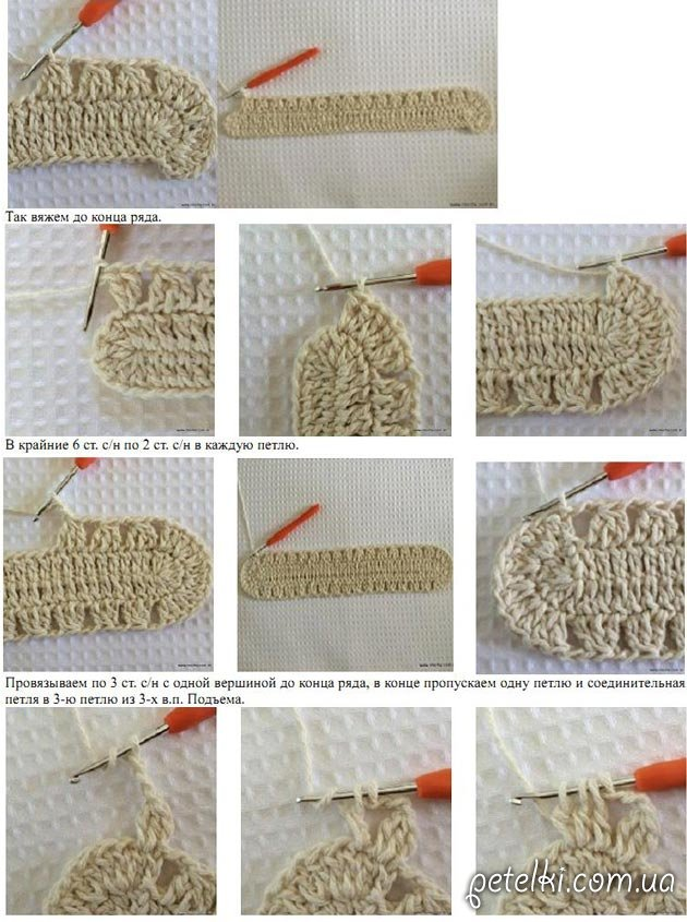 Мк вязание крючком овального коврика