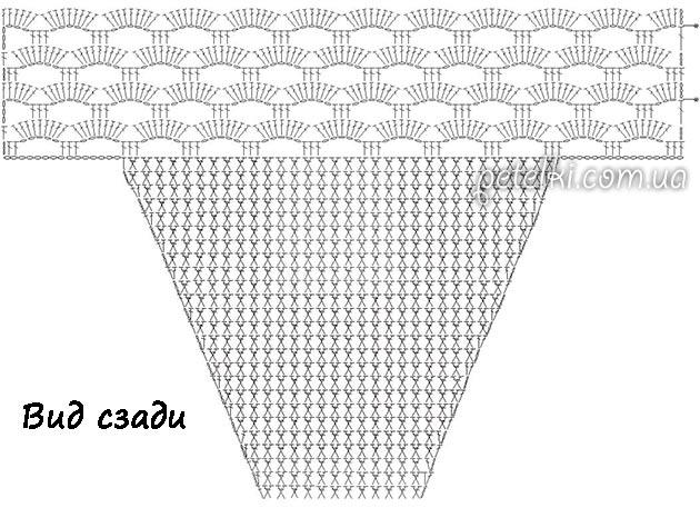 вязаный купальник с высокими плавками схемы