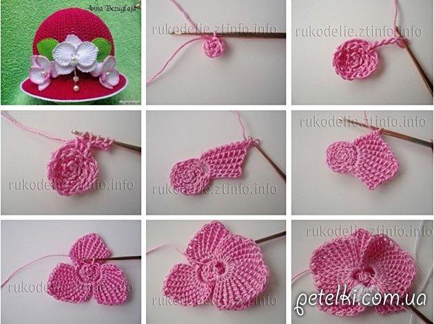 схемы вязания детских шапочек и панам страница 3