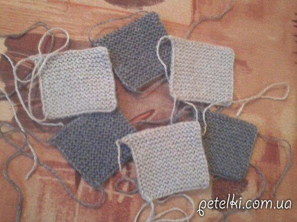 вязание для начинающих тапочки из квадратов как вязать